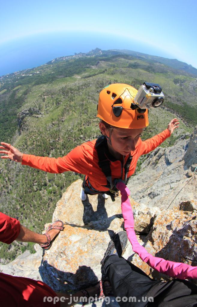 Шаан-Кая прыгнуть со скалы