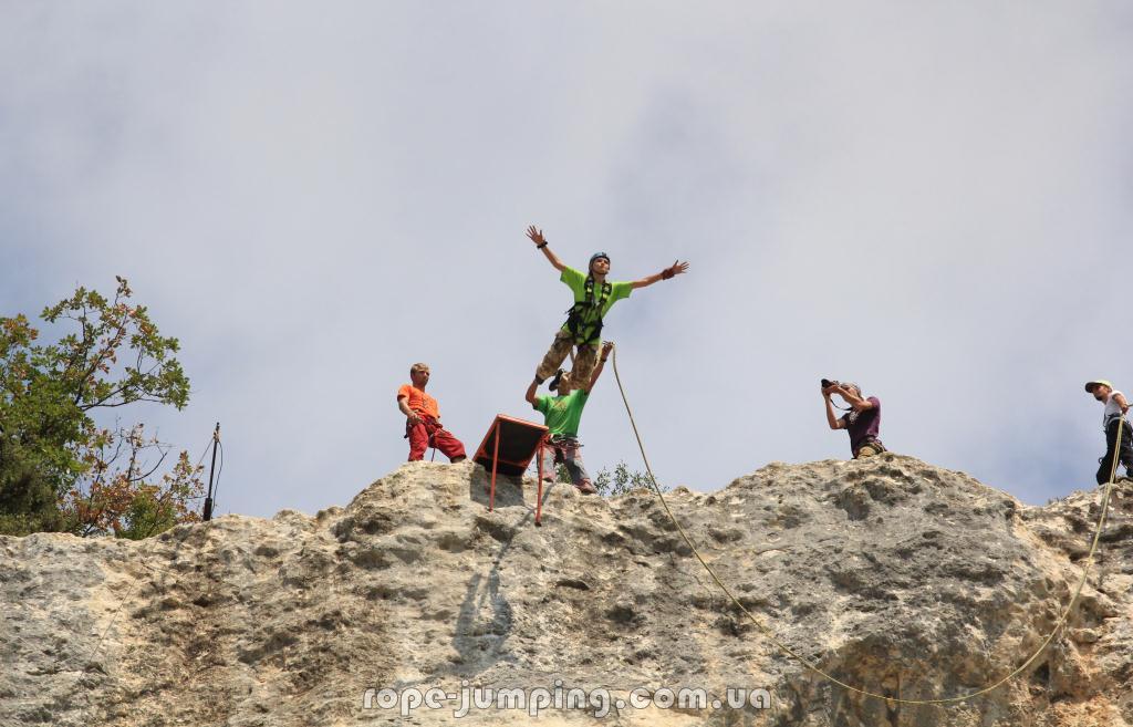 прыжки в качи кальоне